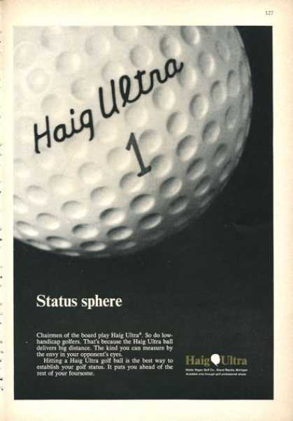 Haig Ultra Golf Ball (1966)