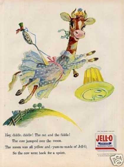"Jello Ad ""Cow Jumped Over the Moon"" (1956)"