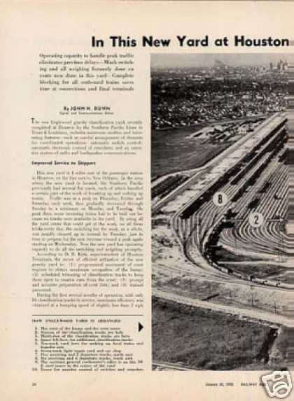 """New Yard at Houston..."" Article/sp-engl (1956)"
