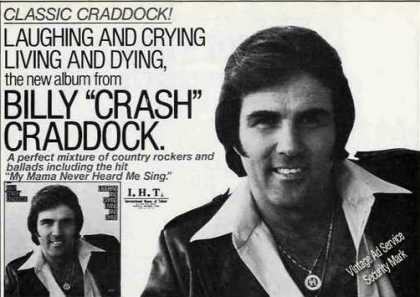 "Billy ""Crash"" Craddock Photo Album Promo (1979)"
