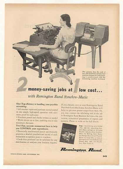 Remington Rand Synchro-Matic Accounting Machine (1951)