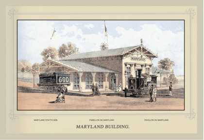 Maryland Building, Centennial International Exhibition (1876)