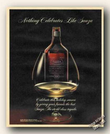 Sauza Tequila Nice Color (1986)