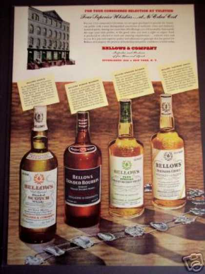 Bellows Whiskey Bar Art (1951)