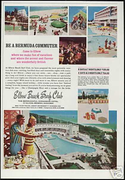 Elbow Beach Surf Club Hotel Bermuda (1966)