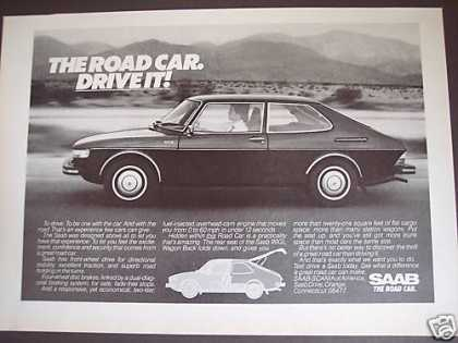 Saab 2dr Road Car Photo (1976)
