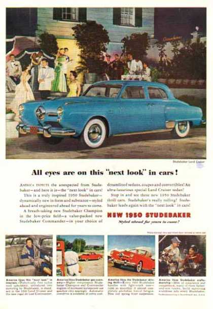 Studebaker CAR – Land Cruiser- Blue (1950)