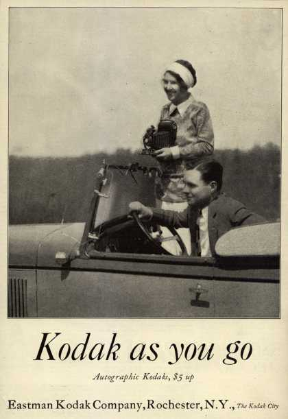 Kodak's Autographic cameras – Kodak as you go