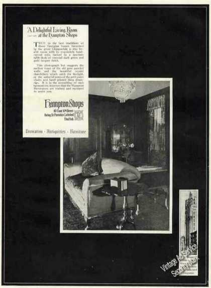 "Hampton Shops ""A Delightful Living Room"" (1971)"