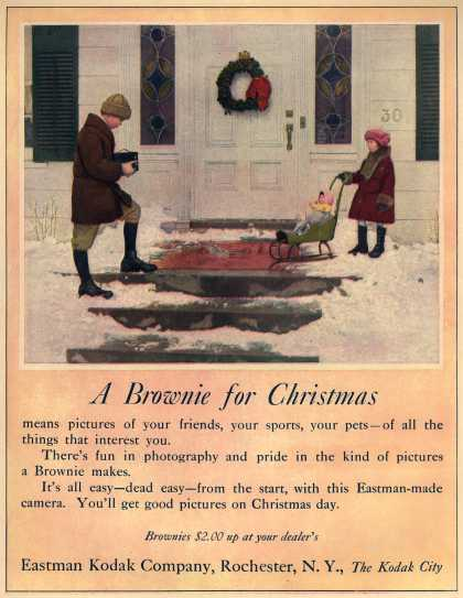 Kodak's Brownie cameras – A Brownie for Christmas (1922)