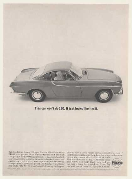 Volvo P1800 Car Won't Do 150 Looks Like It Will (1963)