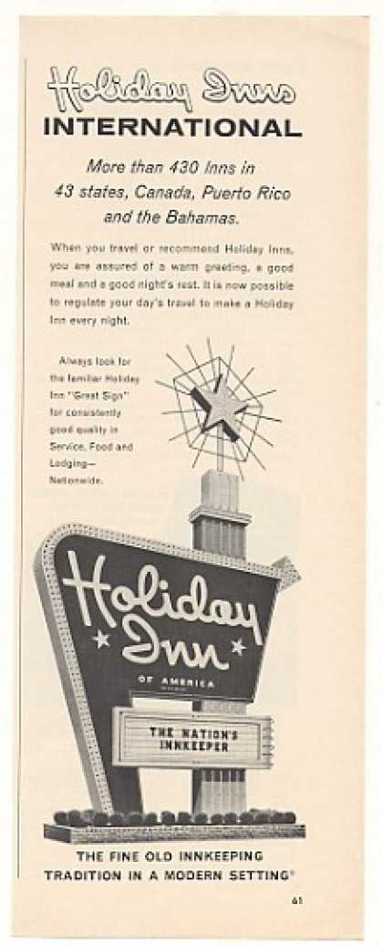 Holiday Inn International Great Sign (1964)