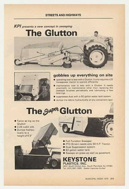 Keystone Glutton Super Glutton Street Sweeper (1978)