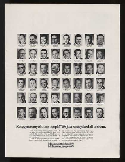 Mass Mutual Insurance President's Club Agents (1969)