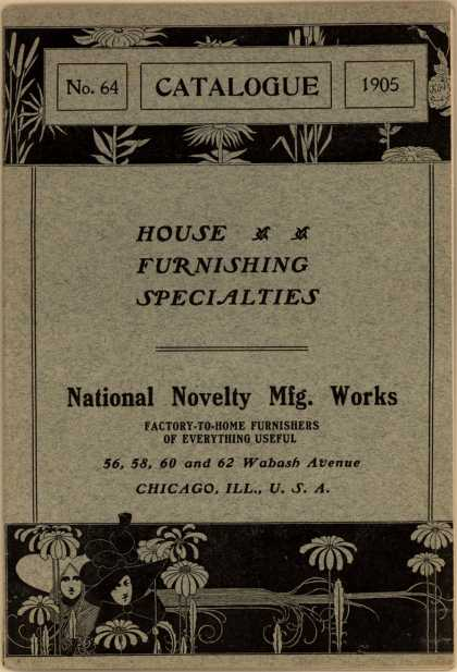 National Novelty Mfg. Work's House Furnishing Specialties – No. 64 Catalogue 1905 (1905)
