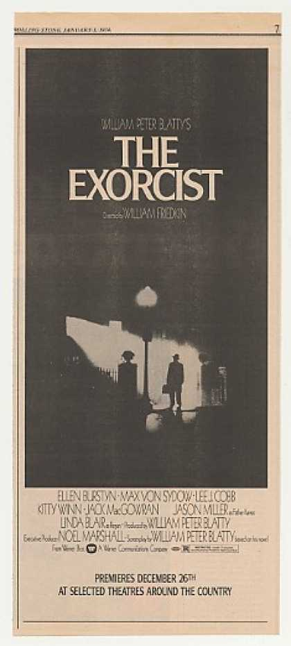 The Exorcist Movie Premiere (1974)