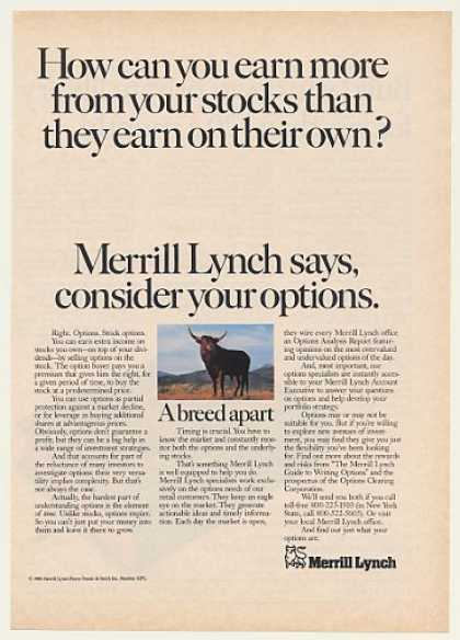 Ml stock options