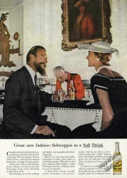 Schweppes As a Soft Drink Commander Whitehead (1958)