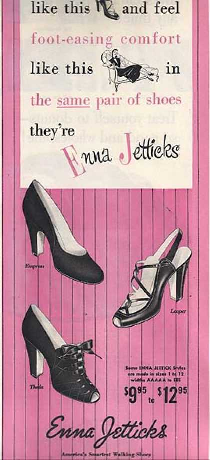 Enna Jettick's Women's Shoes (1951)