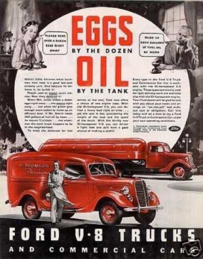 Ford Trucks Color (1937)