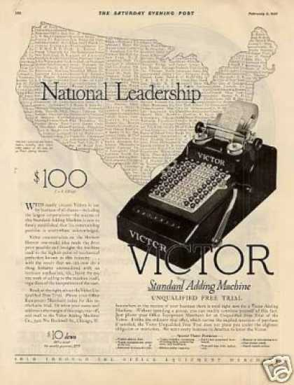 Victor Adding Machine (1926)