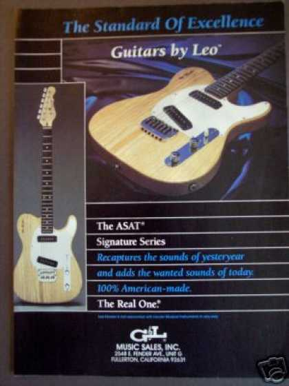 Leo Fender Asat Guitar Photo (1989)