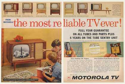 Motorola Declaration TV Golden Tube Sentry (1959)