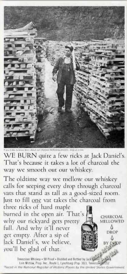 Ricks of Hard Maple Jack Daniel's Distillery (1979)