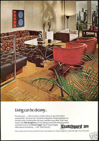 Scotchgard Coggin Furniture Baughman Design (1967)