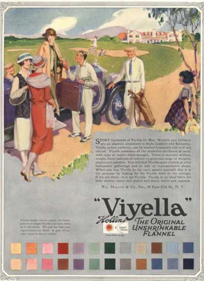 Viyella, Womens Fabrics, UK (1920)