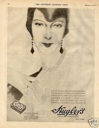 Huyler's Chocolate Candy (1926)