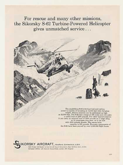 Sikorsky S-62 Turbine-Powered Helicopter Rescue (1959)