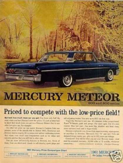 Mercury Meteor Car (1961)