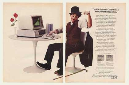 IBM PC XT Computer More Power Little Tramp (1983)