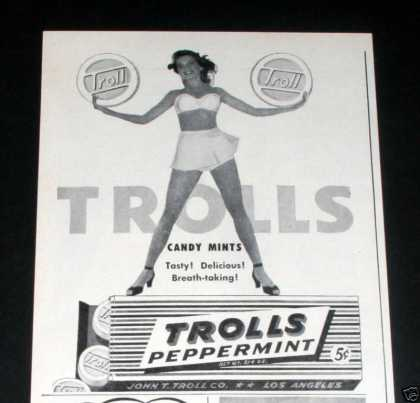 Trolls Peppermint Mints (1946)