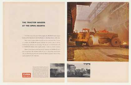 Clark Equipment Michigan Tractor Wagon 2-Page (1963)