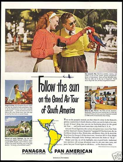 Panagra Pan American Grace Airways S America (1949)
