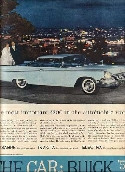 General Motor&#8217;s Buick LeSabre (1959)