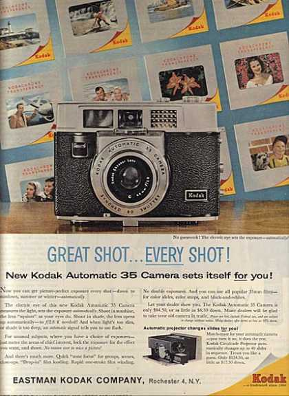 Kodak&#8217;s Automatic 35 Camera (1960)