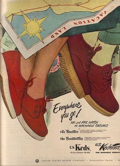 U.S. Ked's washable casuals (1952)