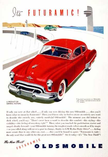 Oldsmobile Futuramic Coupe (1949)