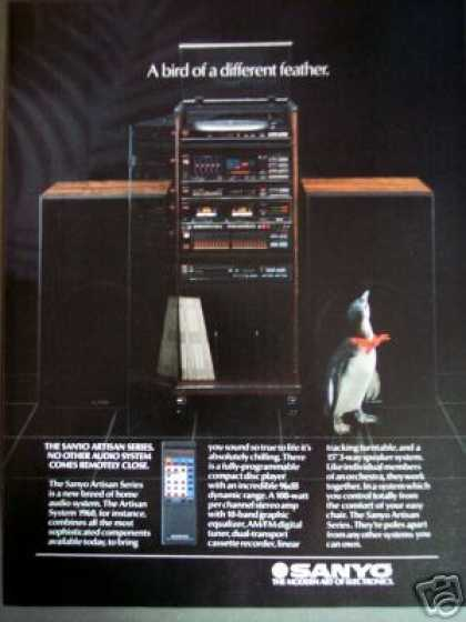 Sanyo Artisan Series Stereo Component System (1985)