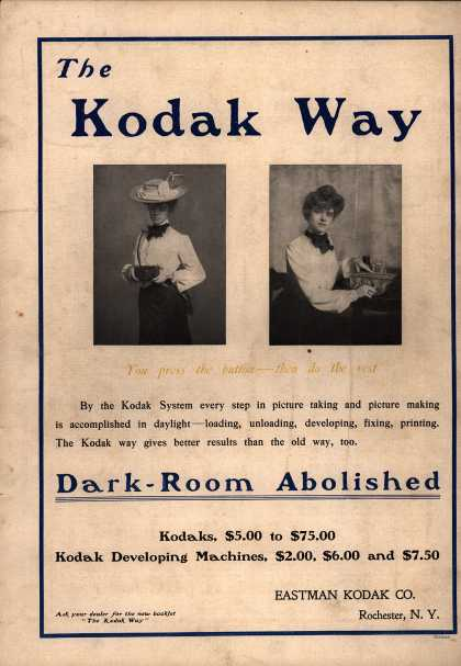 Kodak – The Kodak Way Dark-Room Abolished (1902)