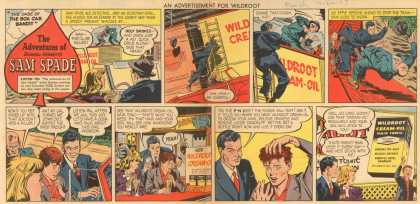 Wildroot Company's Cream Oil – The Adventures of Sam Spade (1947)