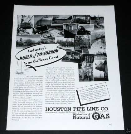 Houston Pipe Line, Texas To Nyc (1939)