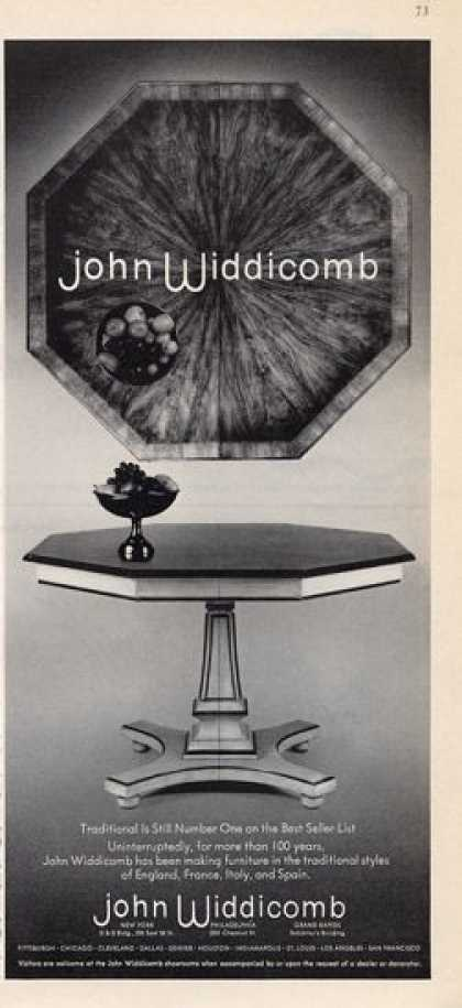John Widdibomb Beautiful Octagonal Table (1965)