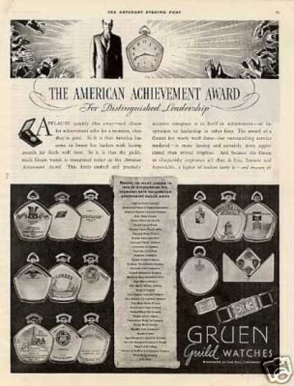 Gruen Watches (1934)