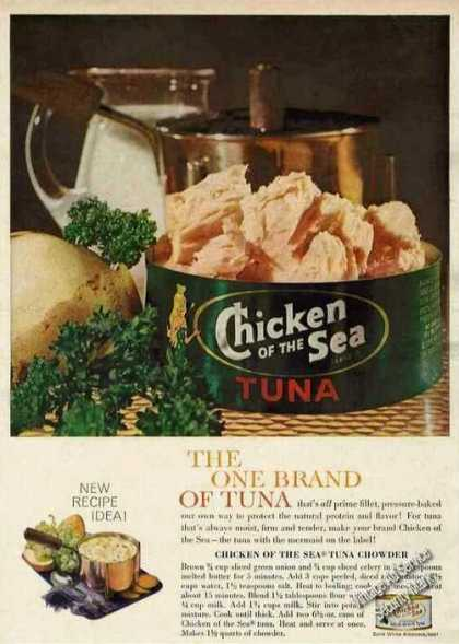 "Chicken of the Sea ""The One Brand of Tuna"" (1961)"