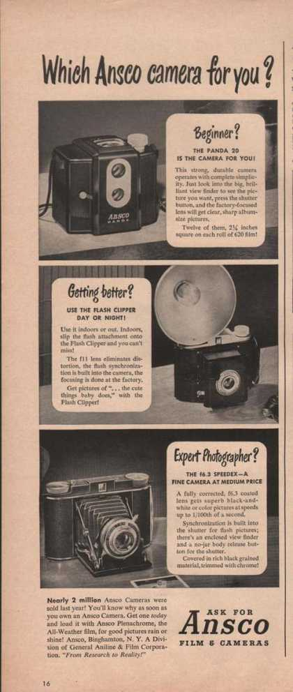 Which Ansco Camera for You (1949)