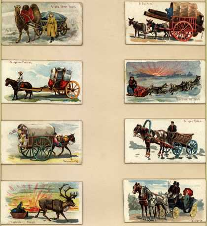 W. Duke Sons & Co.'s Duke's Cigarettes – 50 Vehicles of the World – Image 3